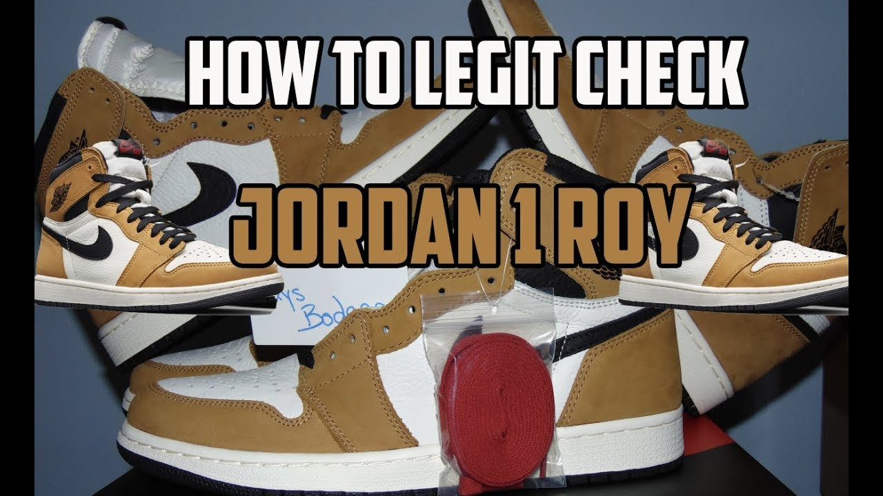 db836bcc0732 HOW TO LEGIT CHECK JORDAN 1 ROOKIE OF THE YEAR! ( Air Jordan 1 Rookie of  the year review )
