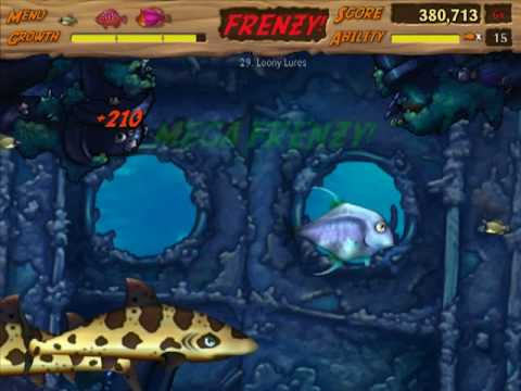 Let's Play Feeding Frenzy 2 - 09 - Levels 28-32 (No Commentary)