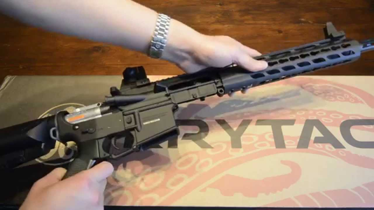 Krytac Trident CRB M4 AEG Review YouTube