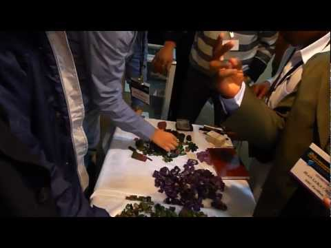 THE GEM SHOW IN ARUSHA TANZANIA 26-29 04 2012