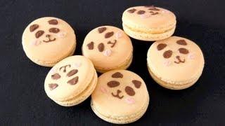 Panda Macaron パンダマカロンの作り方 - Ochikeron - Create Eat Happy