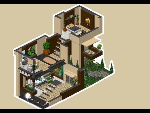 habbo apartamento de lujo 3 pisos youtube