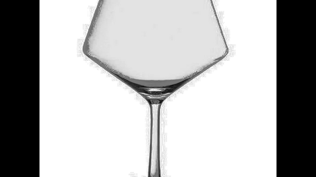 Set of 4 23.4-Ounce Schott Zwiesel Tritan Crystal Glass Pure Stemware Collection Burgundy Red Wine Glass