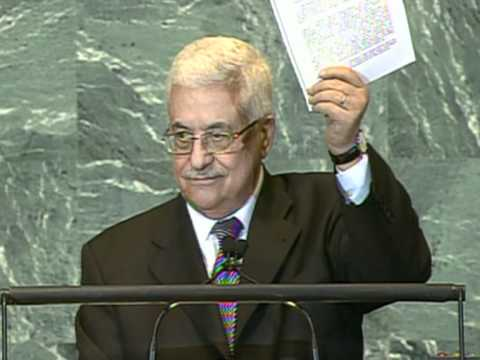 Abbas calls for UN to admit 1967 borders Palestine