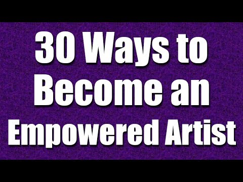 The First Step to Becoming a Successful Artist, Musician, Writer - Part 1