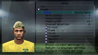 Pes 2006 Neymar New face&hair World cup 2018