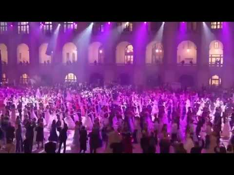 Putin on the ritz! Russian cadets enjoy a night of dancing at annual ball
