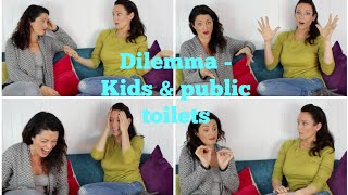 PUBLIC TOILETS & KIDS - DISCUSSION What age do you send them in on their own?