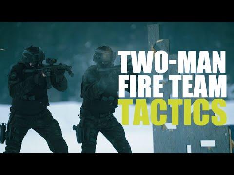 Two-Man Fire Team Tactics