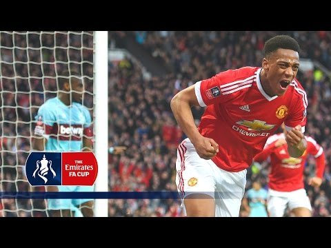 Man Utd 1-1 West Ham - Emirates FA Cup 2015/16 (R6) | Goals & Highlights