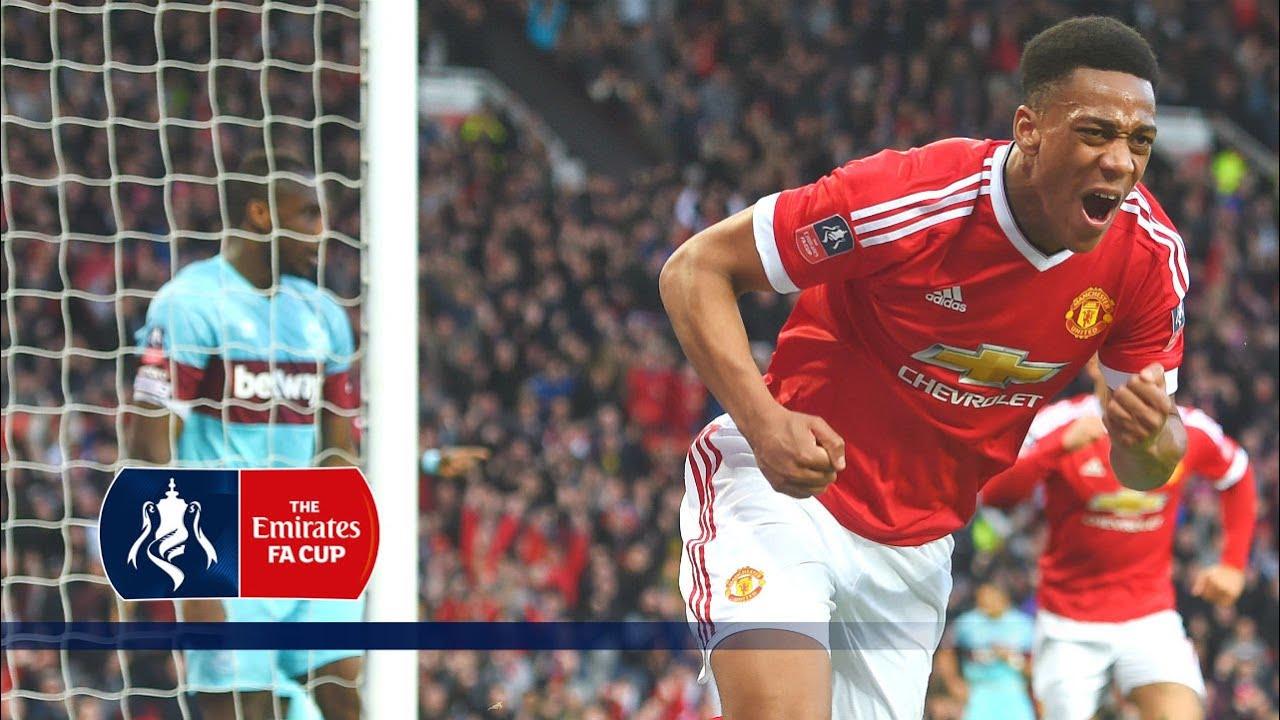 Man Utd 1-1 West Ham - Emirates FA Cup 2015/16 (R6) | Goals & Highlights