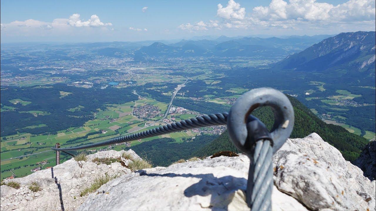 Klettersteig Bayern : Klettersteige für anfänger in den alpen bergwelten