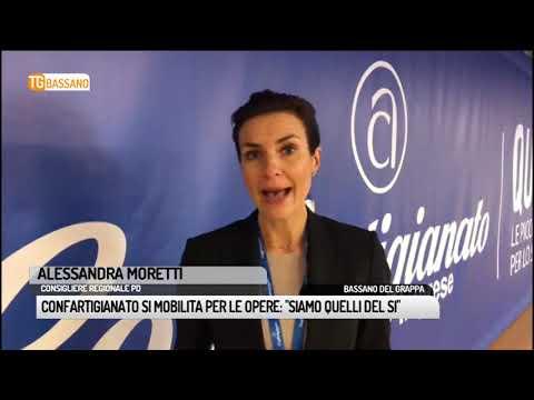 TG BASSANO (13/12/2018) - CONFARTIGIANATO SI MOBIL...
