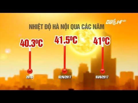 (VTC14)_Hà Nội nắng nóng nhất trong 40 năm qua