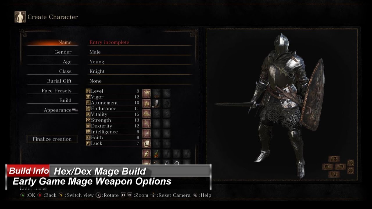 Dark Souls 3: Very Early Game Mage Build Weapon Options - YouTube