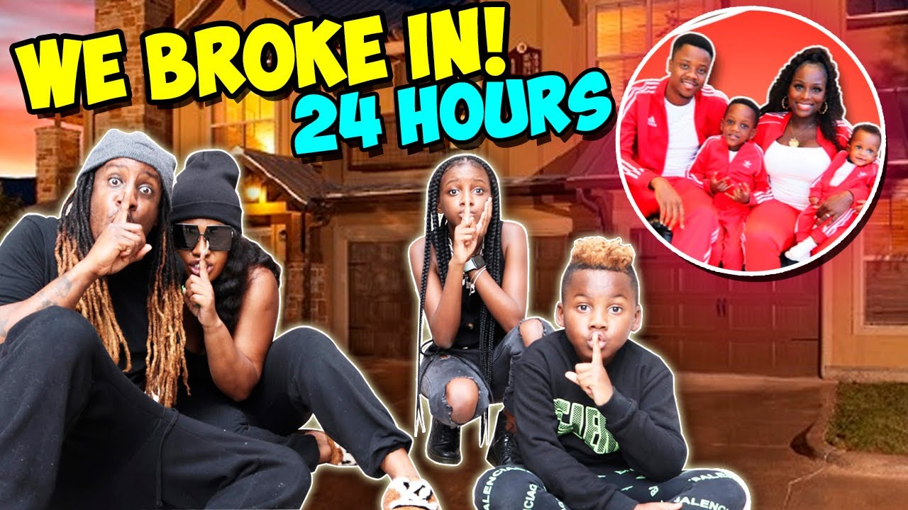 Sneaking into Beam Squad House for 24 Hours