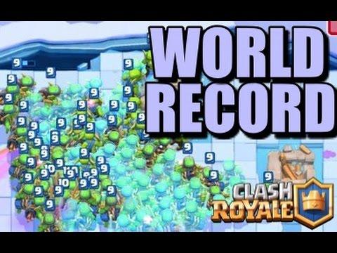 Clash Royale / RECORD DU MONDE de Gobelin / Clonage feat DavidK