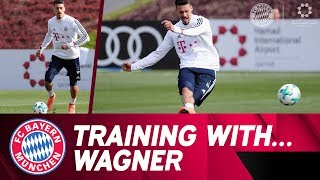 🆕 Sandro Wagner's Training with FCB in Doha!