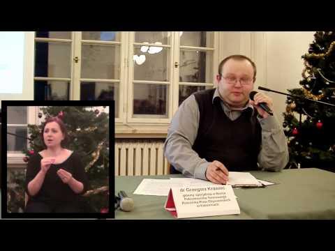 Grzegorz Krawiec - Przeciwdziałanie dyskryminacji w praktyce Rzecznika Praw Obywatelskich