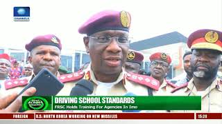 FRSC Holds Trainig For Driving School Agencies In Imo