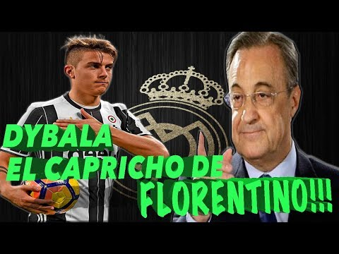 REAL MADRID // NOTICIAS -- DYBALA, OBJETIVO DE FLORENTINO!!!