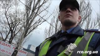 ГАИ эвакуирует автомобили без присутствия водителя. ч. 1