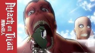 Attack on Titan - Official Clip - Take it Like a Man