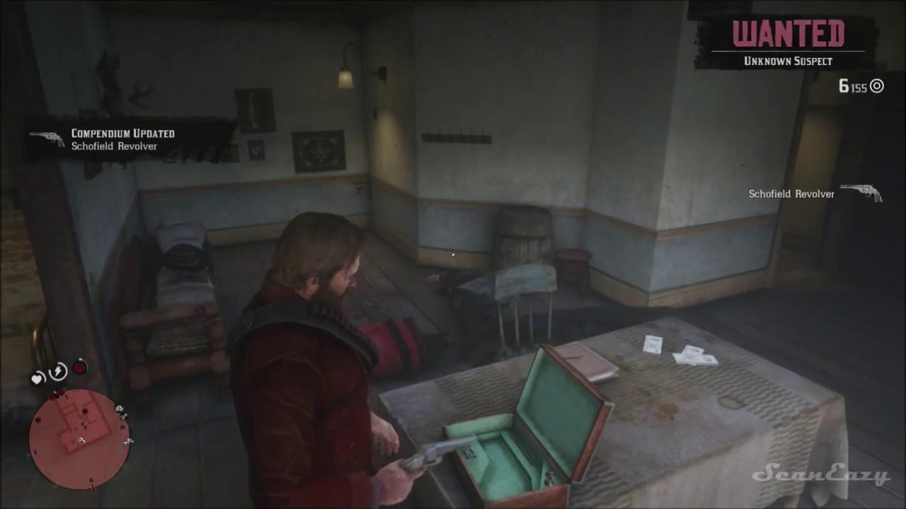 Rdr2 Secret Stash Room In Valentine Store Robbery Gun Found