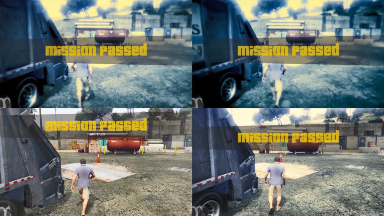GTA V Mission Passed Over One Million Times