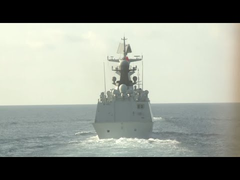 China, Singapore Hold First Joint Drill