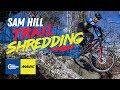 Sam Hill trail shredding in Tennessee