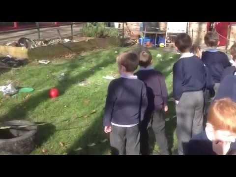 Spaceship Crash at Newbold Church of England School in Chesterfield