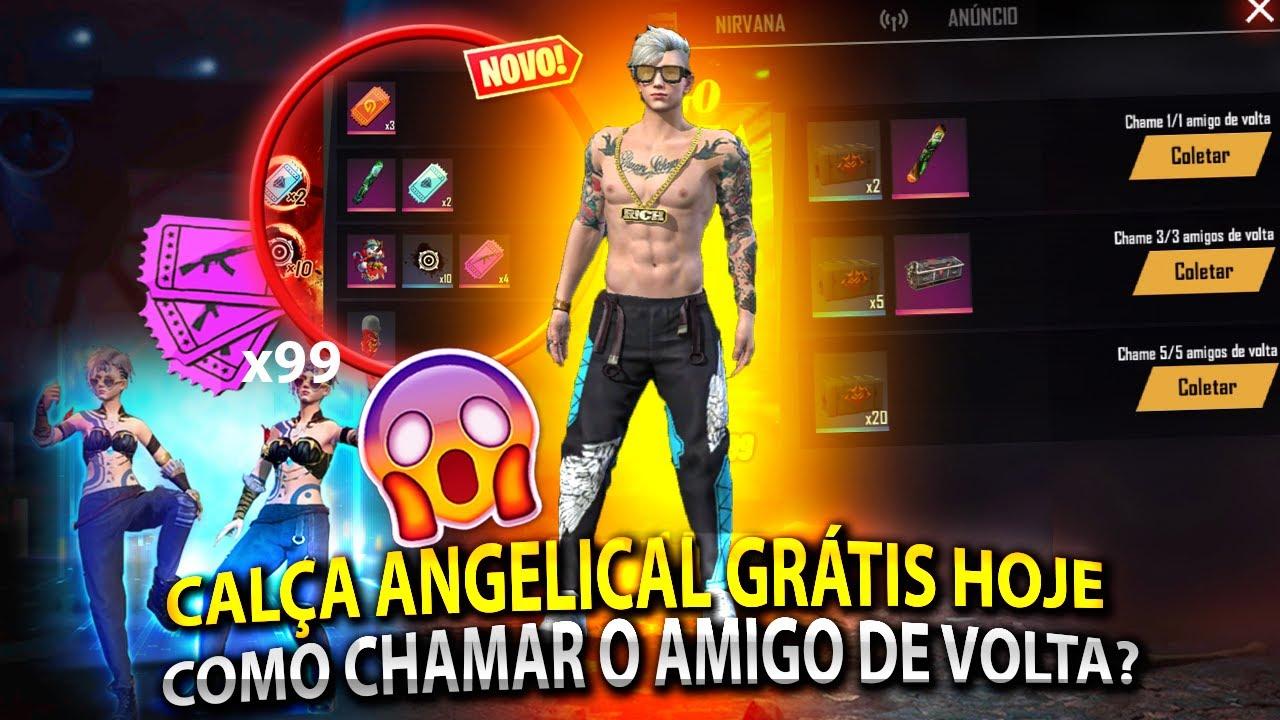 COLETE AGORA   CALÇA ANGELICAL GRATUITA, NOVO EVENTO CHAME O AMIGO DE VOLTA, TICKETS ROYALE E MAIS!