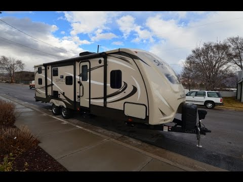 2015 Cross Roads Sunset Trail 28BH Travel Trailer Walk-around by Motor Sportsland
