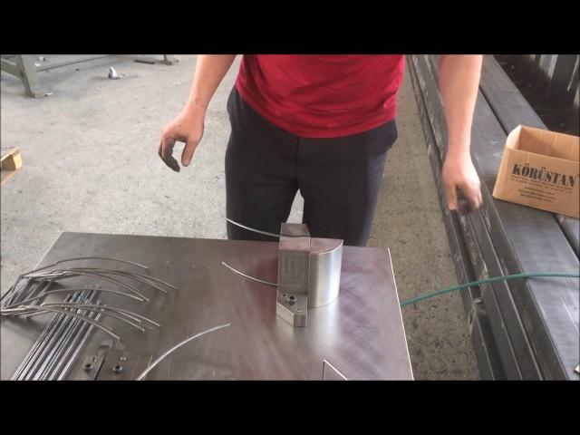 Sağlam Makina - İşe Özel Tel Bükme Kalıp Karkas Punta Kaynak Makinesi