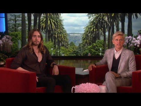 Jaren Leto Discussed his oscar buzz on Ellen