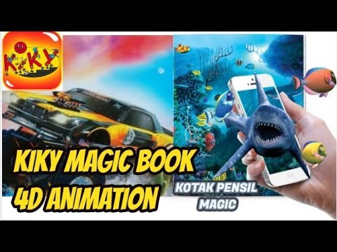 Kotak Pensil Kiky Magic Book 4D Animation (Pencil Box Kiky Magic Book 4D Animation)