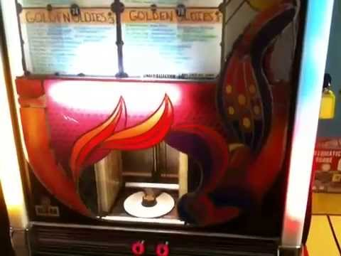 NSM Firebird cd jukebox, we buy and sell vintage jukeboxes at coinopny.com