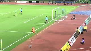 2018年10月14日 ルヴァンカップ 湘南ベルマーレ対柏レイソルPK戦.