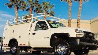 2007 CHEVY SILVERADO 2500 UTILITY BED SERVICE TRUCK  - 48K MILES - 2WD - SEEWHATSIN.COM  #111143