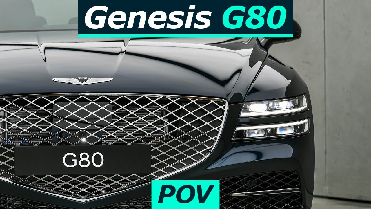 "2021 Genesis G80 Sedan 3.5T POV Ride ""Bring it on!"""