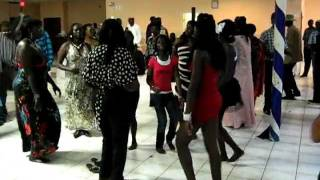 South sudanese dance in H town USA