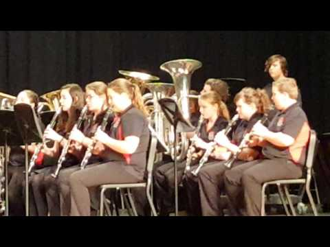 Madison County middle school band competition song Chasing Clouds Of Glory by: Andrew F.Poor