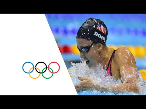 rebecca soni breaks world record 200m breaststroke london 2012 olympics - Olympic Swimming Breaststroke