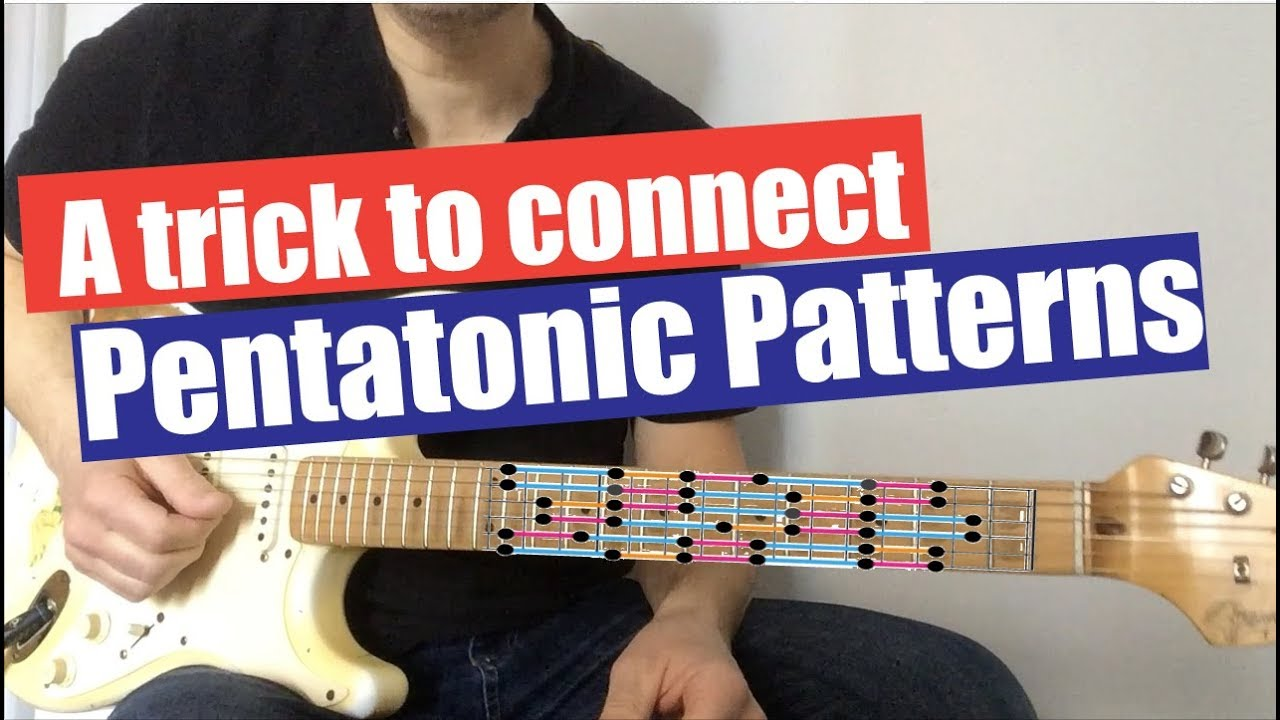 A Trick to Connect Pentatonic Patterns