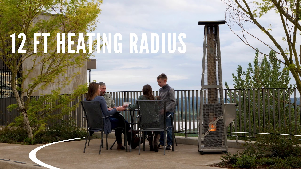 Wood Pellet Patio Heaters | Timber Stoves - YouTube