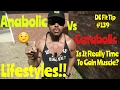 Anabolic Vs Catabolic Lifestyles! (Health Effects) DE Fit Tip #139