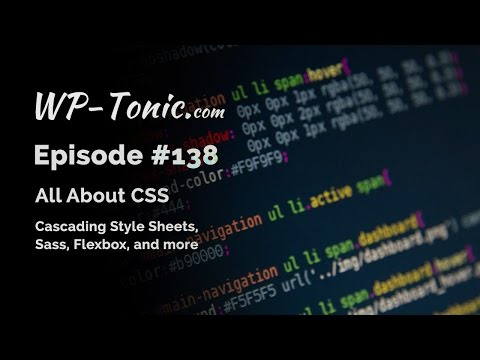 138 WP-Tonic: All About CSS