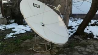 Как правельно собрать спутниковую тарелку 1.8 диаметра.