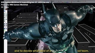 NEW BATMAN GAME In Final Stages of Development!? (Announcement Soon?